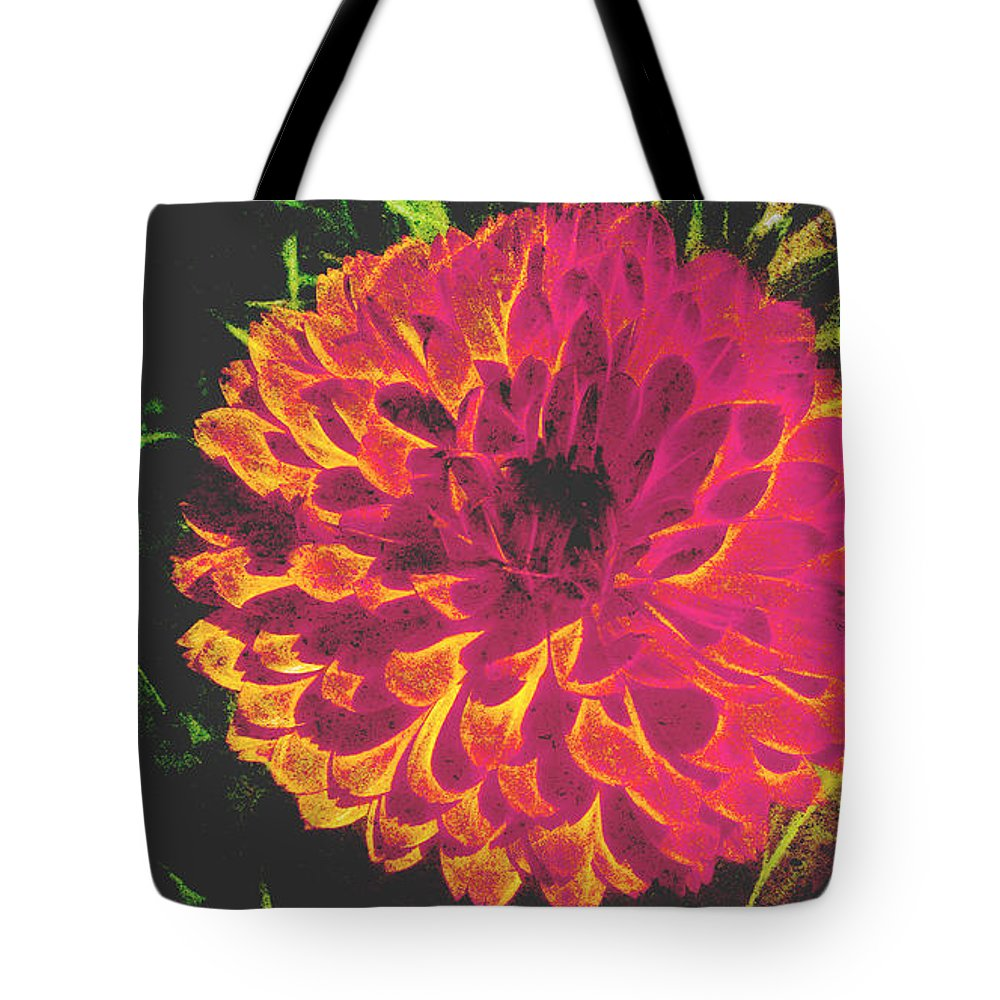 Floral Photograph Tote Bag featuring the photograph The Color Of Love by Beverly Guilliams