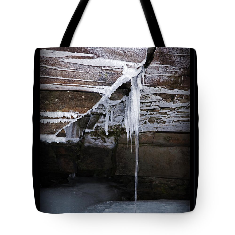 Frost Tote Bag featuring the photograph The Colors Of Cold by John Stephens