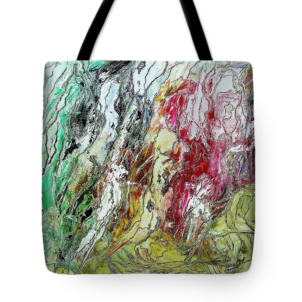 Storm Tote Bag featuring the painting The Coming Storm by Bellesouth Studio
