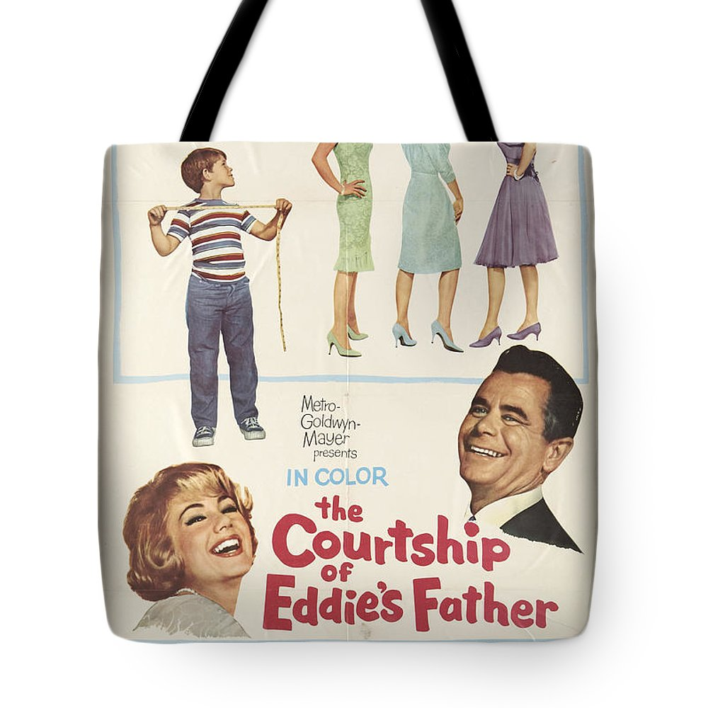 Glenn Ford Tote Bag featuring the photograph The Courtship Of Eddie's Father by Mountain Dreams