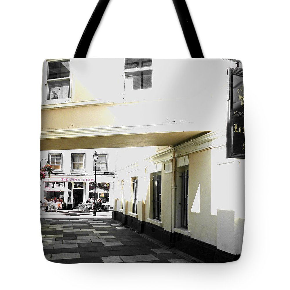 Local Tote Bag featuring the photograph The Cupcake Cafe by Steve Taylor