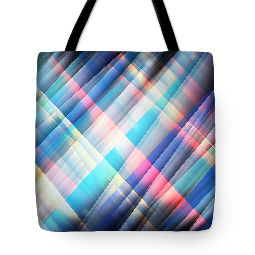 Digital Art Tote Bag featuring the digital art The Curtain Of Space by Phil Perkins
