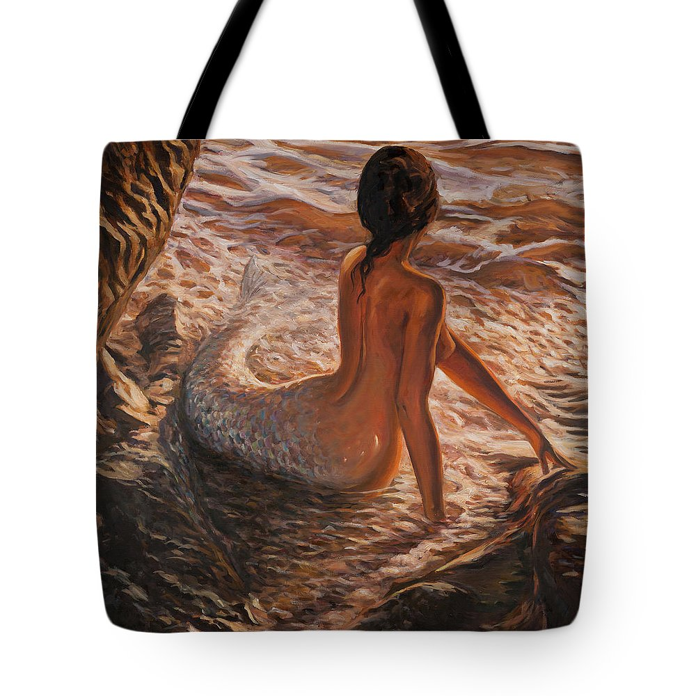 Mermaid Tote Bags