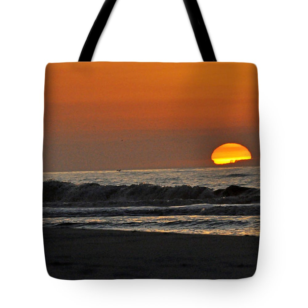 Landscape Tote Bag featuring the photograph The Day Comes To Life by Kay Lovingood