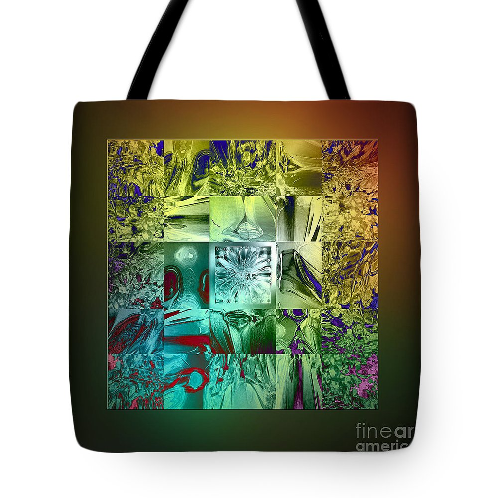 Devil Tote Bag featuring the digital art The Devil Is In The Details by Klara Acel