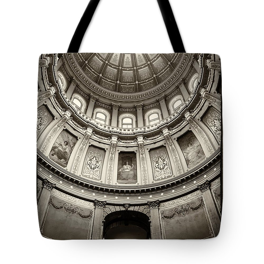 Arches Tote Bag featuring the photograph The Dome by Gej Jones