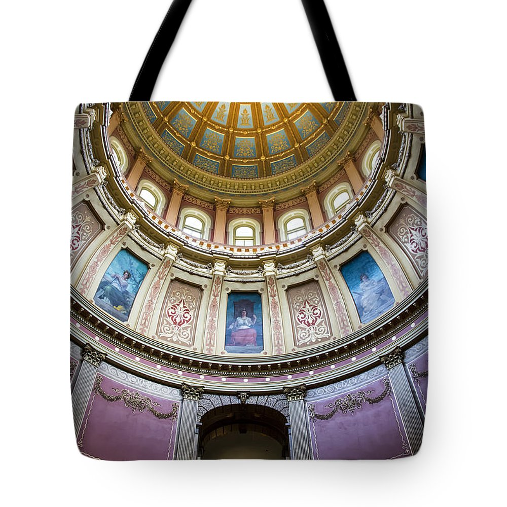 Arches Tote Bag featuring the photograph The Dome In Color by Gej Jones