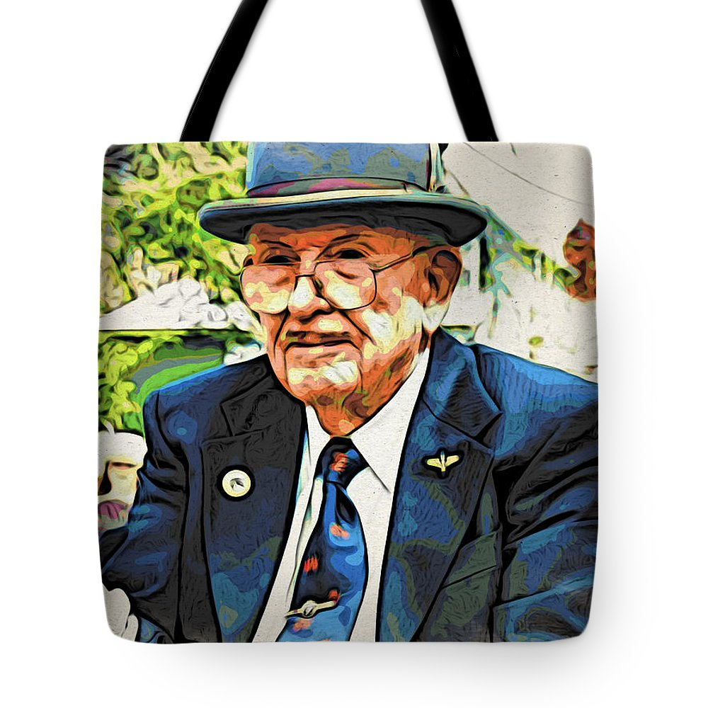 Man Tote Bag featuring the photograph The Driver by Alice Gipson