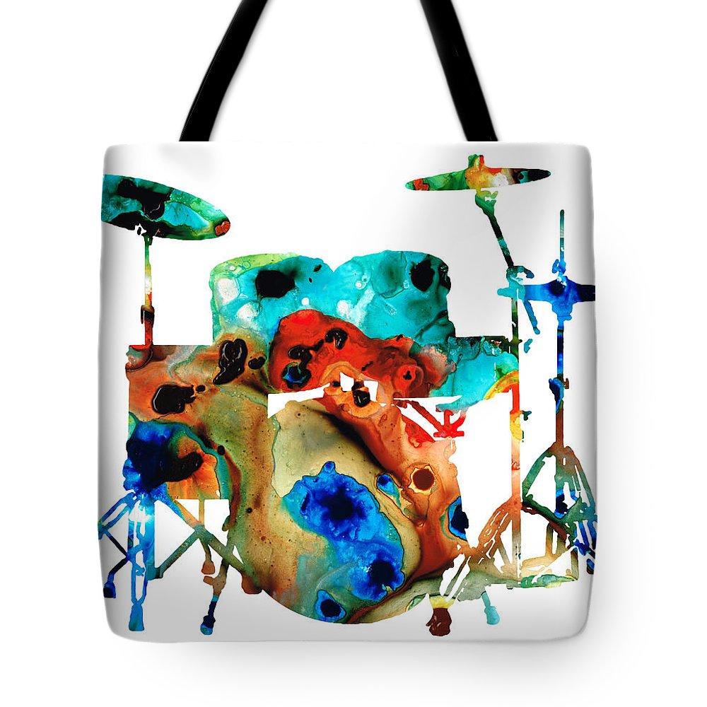 Drum Tote Bags