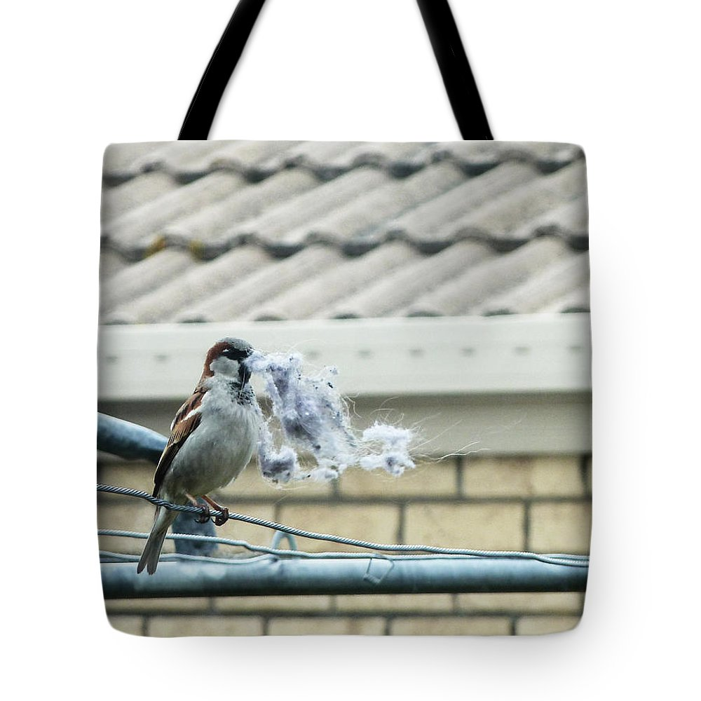 Duvet Tote Bag featuring the photograph The Duvet by Steve Taylor