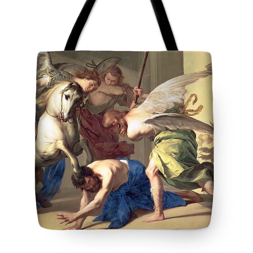 Debt Collector Paintings Tote Bags