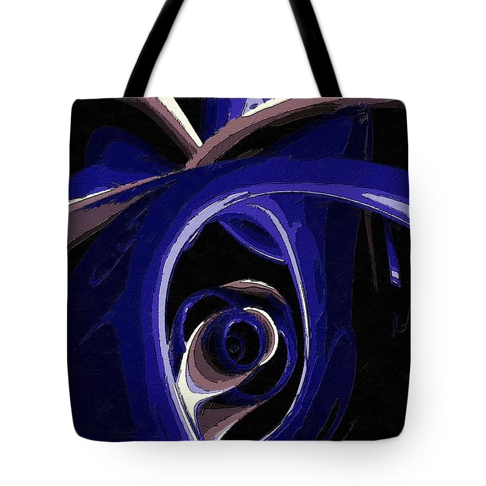 Eye Tote Bag featuring the painting The Eye Of Sorrow by Florian Rodarte