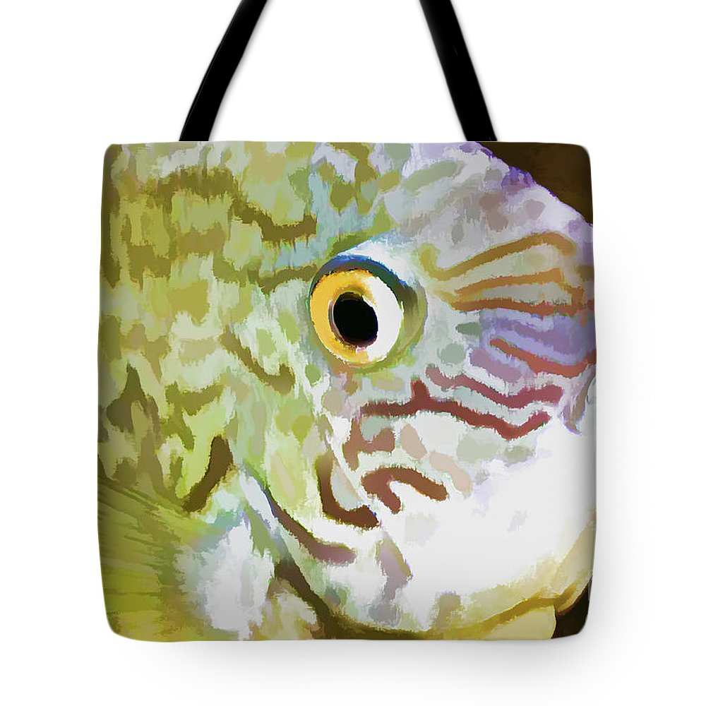 Fish Tote Bag featuring the photograph The Fish by Deborah Benoit