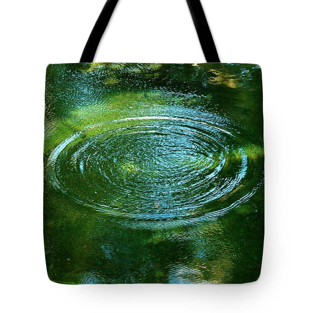 Pond Tote Bag featuring the photograph The Fish Pond by Lehua Pekelo-Stearns