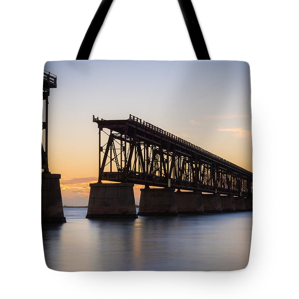 Florida Tote Bag featuring the photograph The Folly by Kristopher Schoenleber