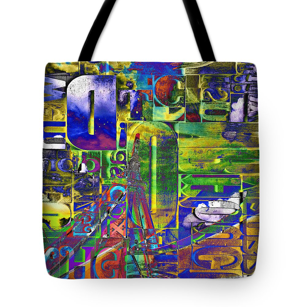 Nag003409h Tote Bag featuring the photograph The Forgotten Print by Edmund Nagele