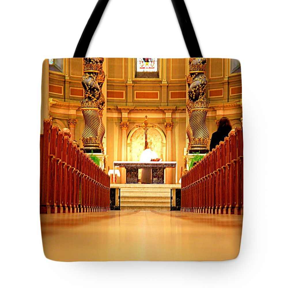 Ceremony Tote Bag featuring the photograph The Function by Valentino Visentini
