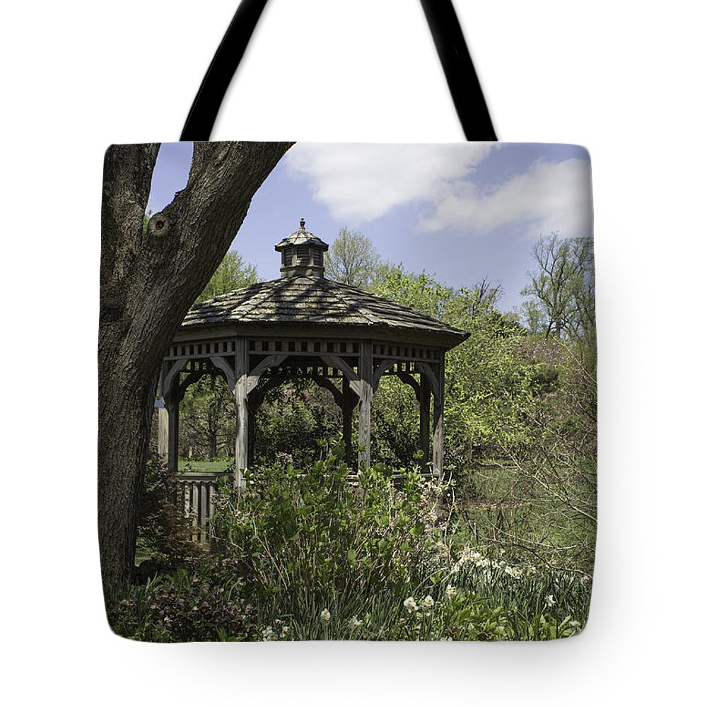 Botany Tote Bag featuring the photograph The Gazebo by Arlene Carmel