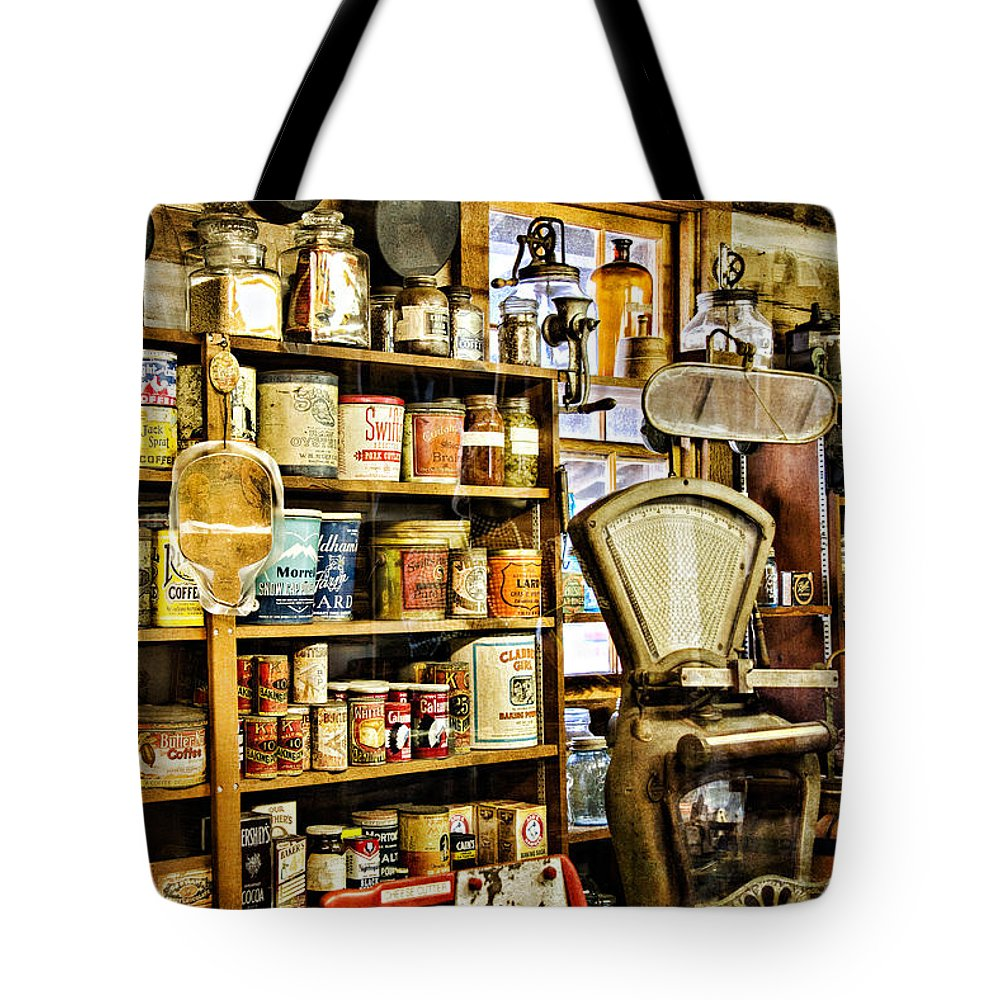 Ok Tote Bag featuring the photograph The General Store by Lana Trussell