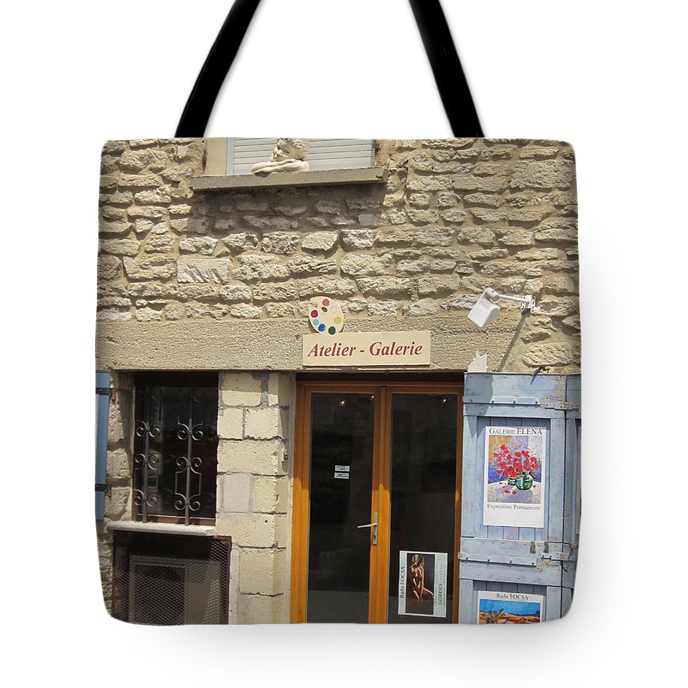 Statue Tote Bag featuring the photograph The Girl At The Window by Pema Hou