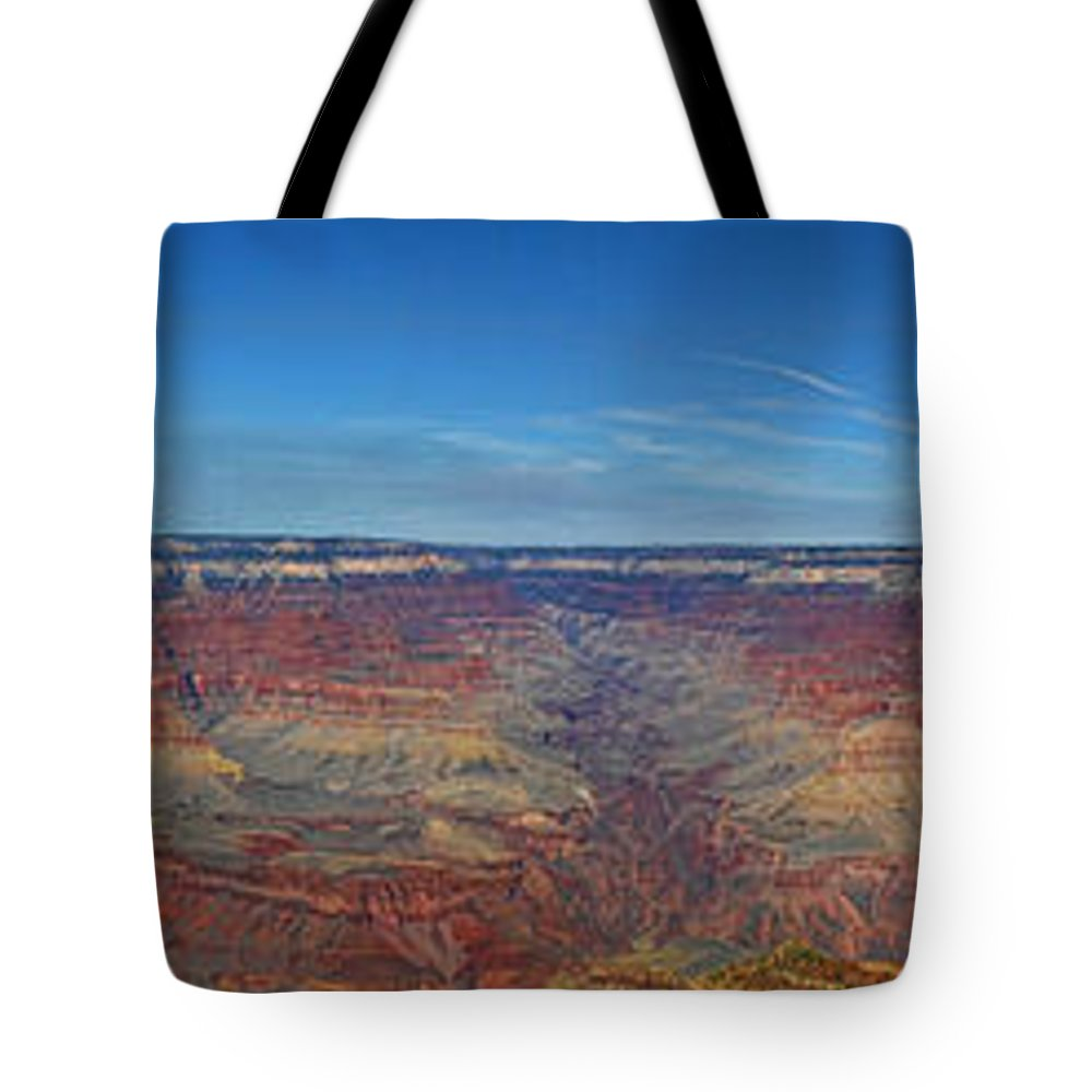 Grand Canyon Tote Bag featuring the photograph The Grand Grand Canyon by Deb Buchanan