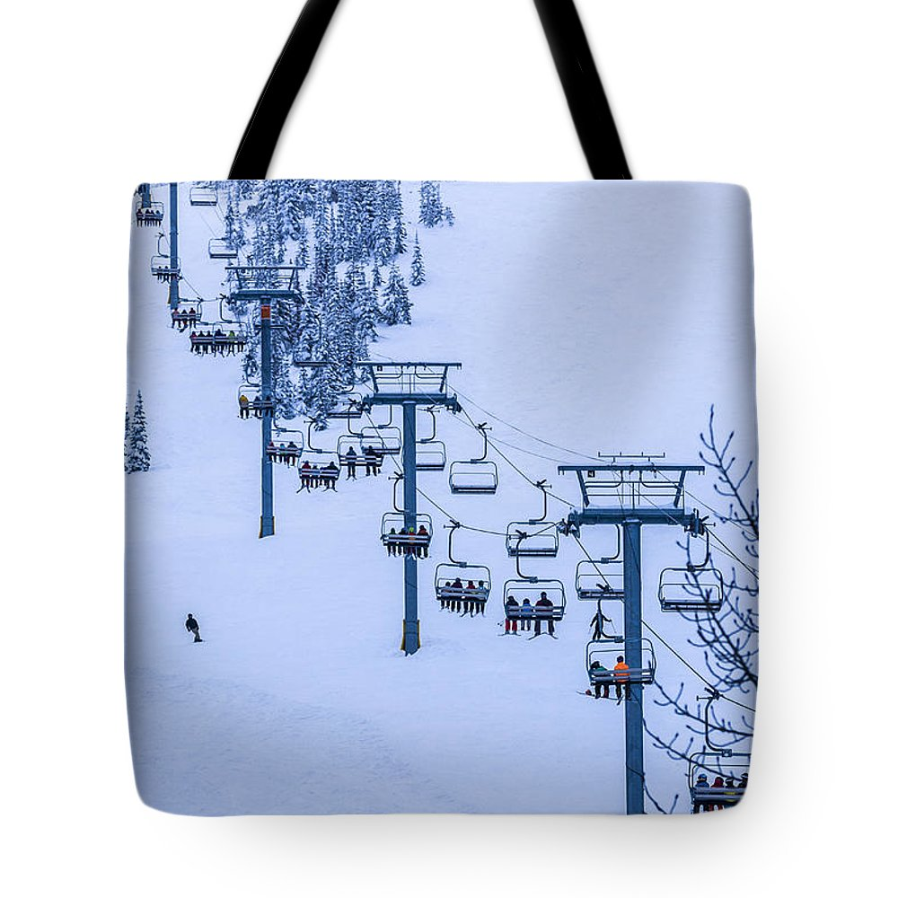 Mountains Tote Bag featuring the photograph The Great Escape by Albert Seger