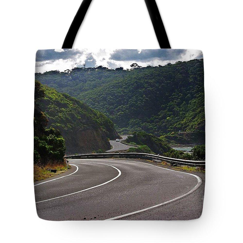 Blair Stuart Tote Bag featuring the photograph The Great Ocean Road by Blair Stuart