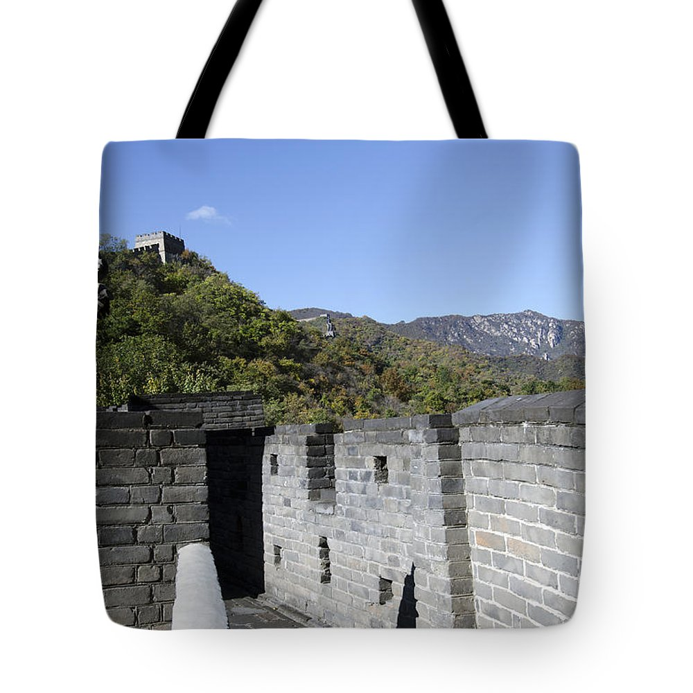China Landscape Tote Bag featuring the photograph The Great Wall 684 by Terri Winkler