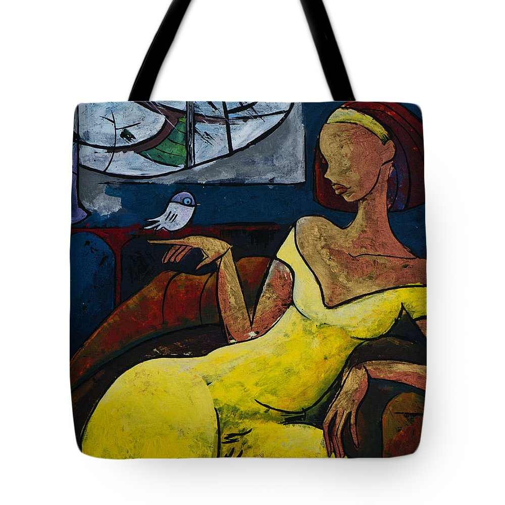 Suffering Tote Bags