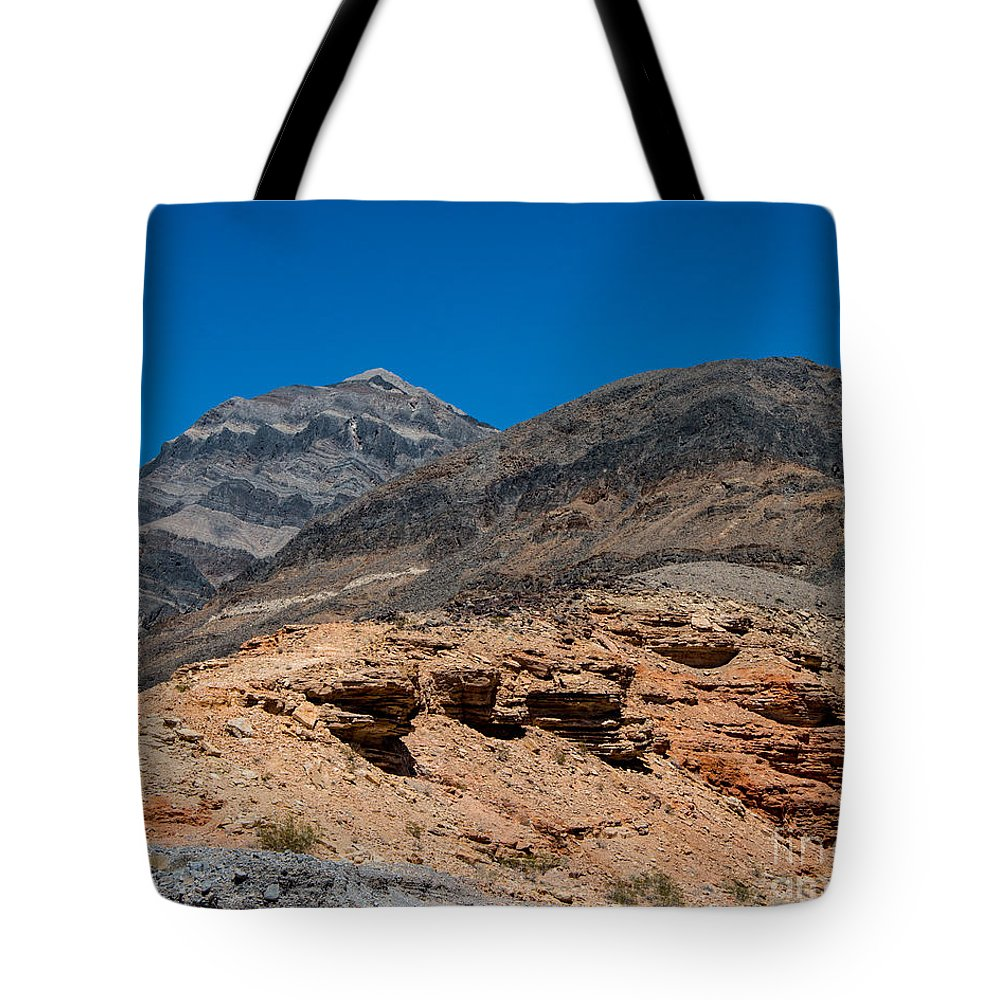 Death Valley Tote Bag featuring the photograph The Hillside by Stephen Whalen