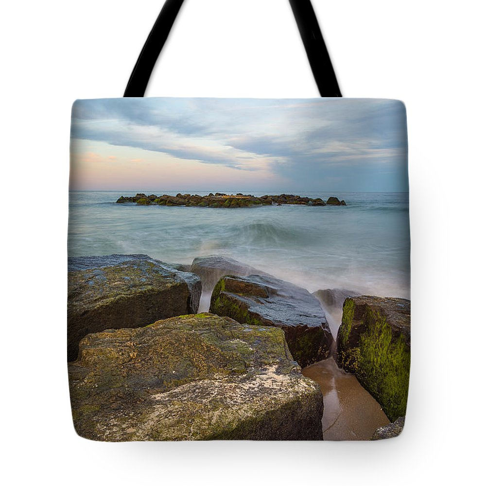 New Jersey Tote Bag featuring the photograph The Island by Kristopher Schoenleber
