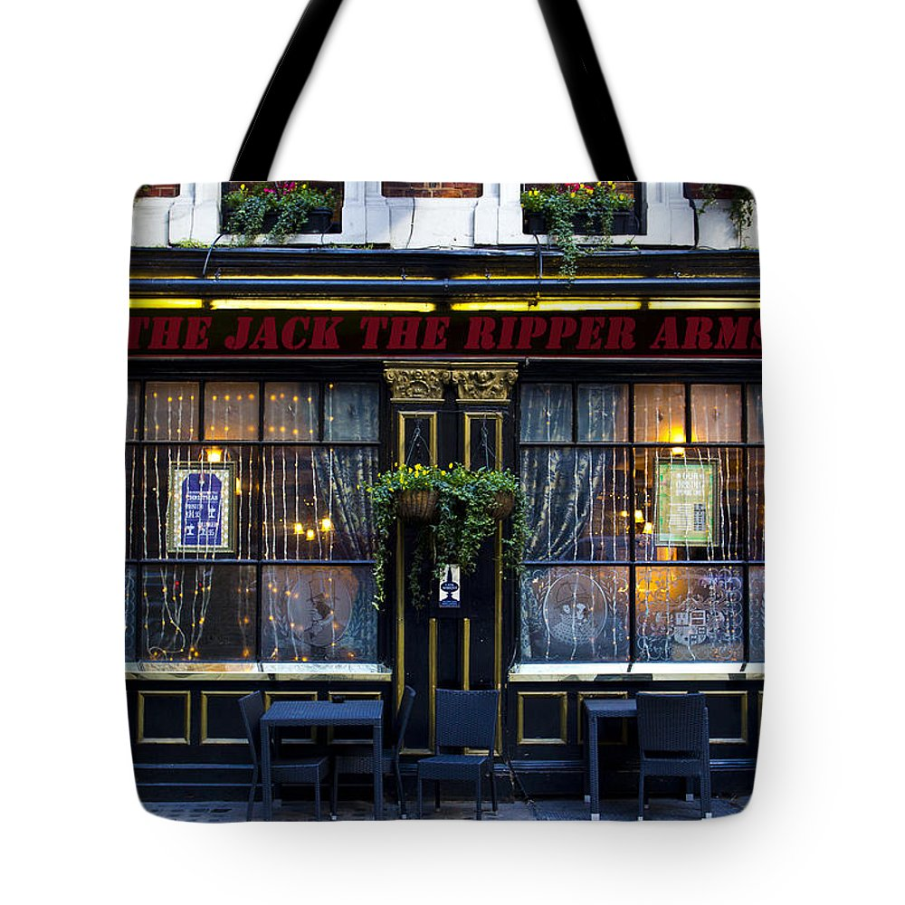 Pub Tote Bag featuring the photograph The Jack The Ripper Pub by David Pyatt