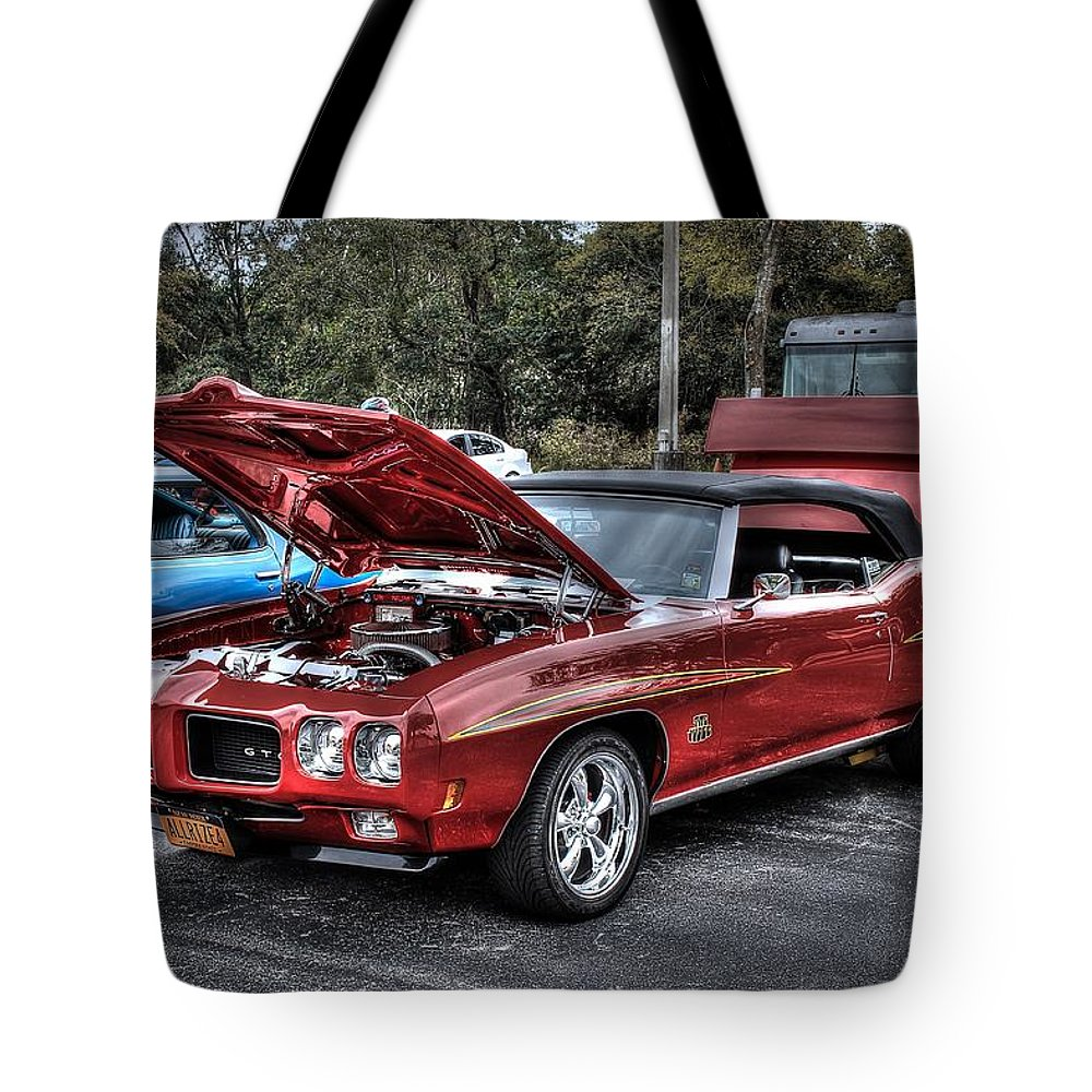 Pontiac Tote Bag featuring the photograph The Judge II by James Markey