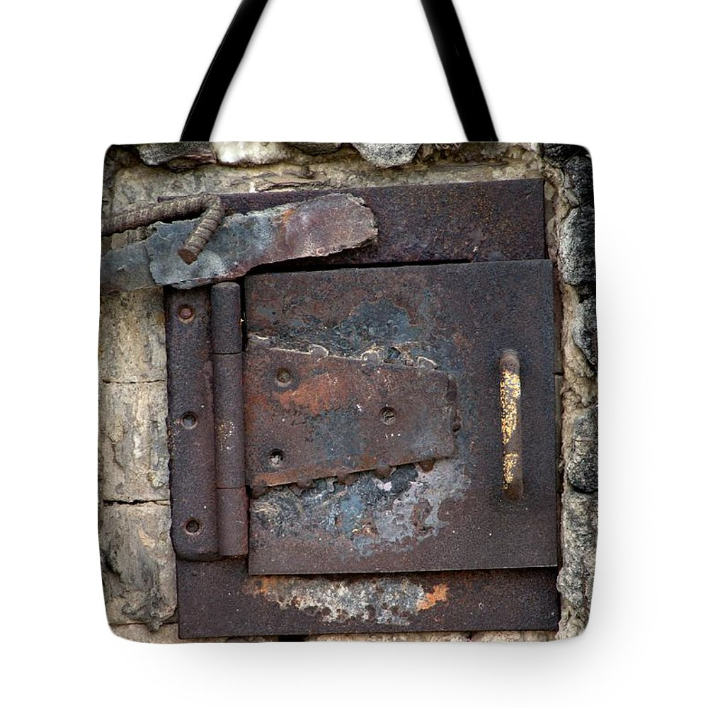 Newel Hunter Tote Bag featuring the photograph The Kiln by Newel Hunter