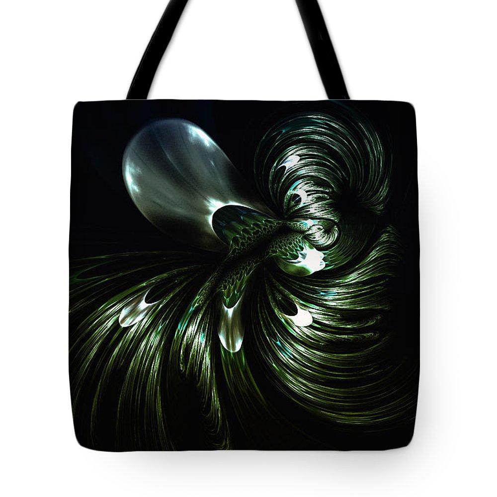 Kracken Tote Bag featuring the digital art The Kracken by Shari Nees