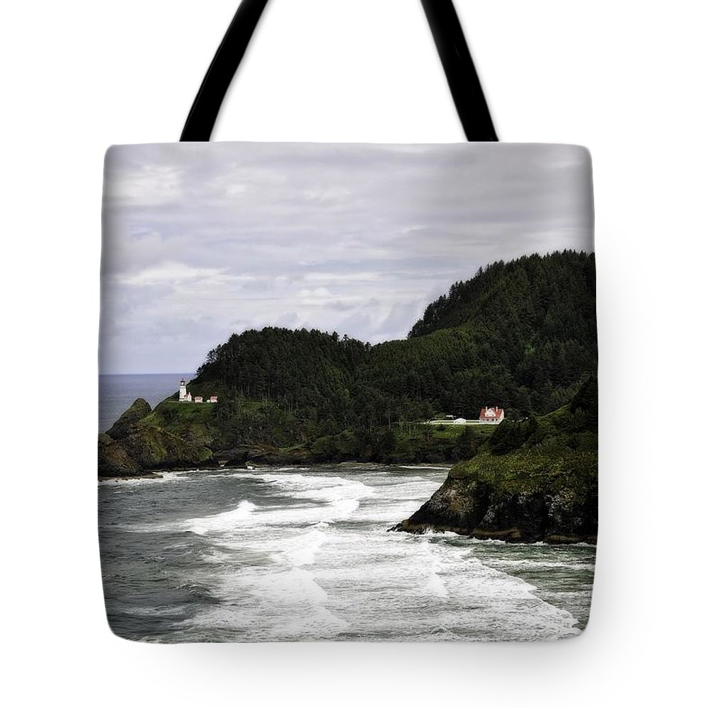 Heceta Head Tote Bag featuring the photograph The Landscape Of Heceta by Image Takers Photography LLC - Laura Morgan