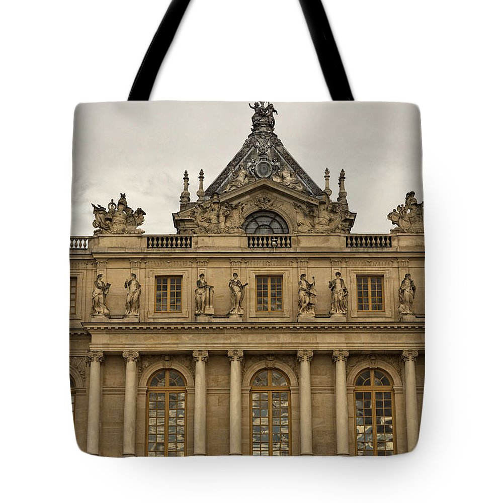Versailles Tote Bag featuring the photograph The Last Seat Of Power by Hany J
