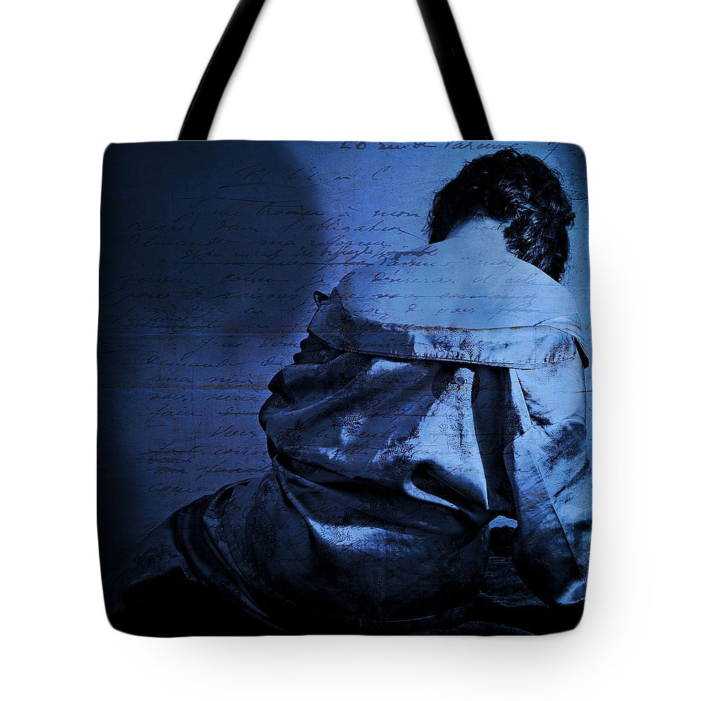 Portrait Of A Woman Photographs Tote Bags