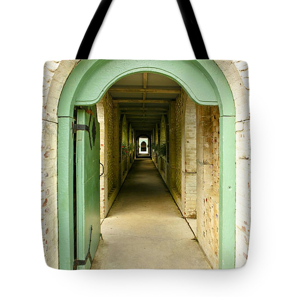 House Tote Bag featuring the photograph The Long Welcome by Marilyn Hunt