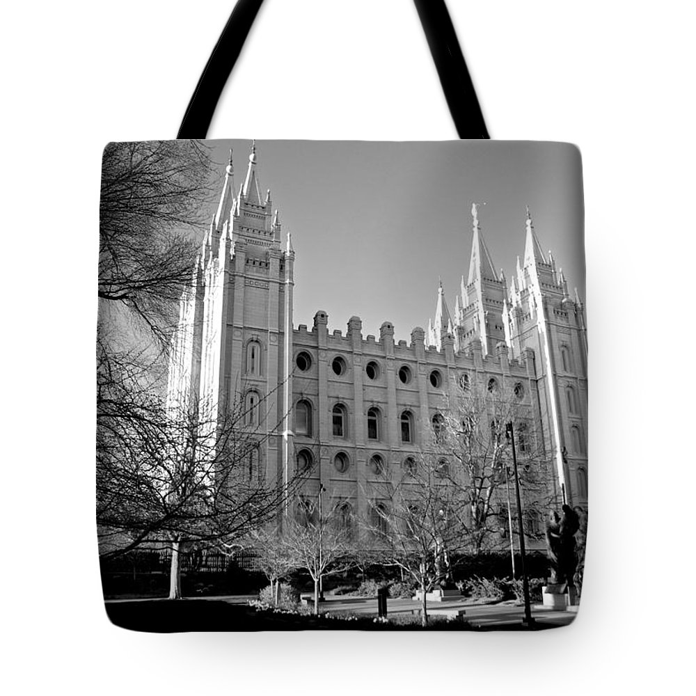 Temple Tote Bag featuring the photograph The Lord's House by Eric Tressler