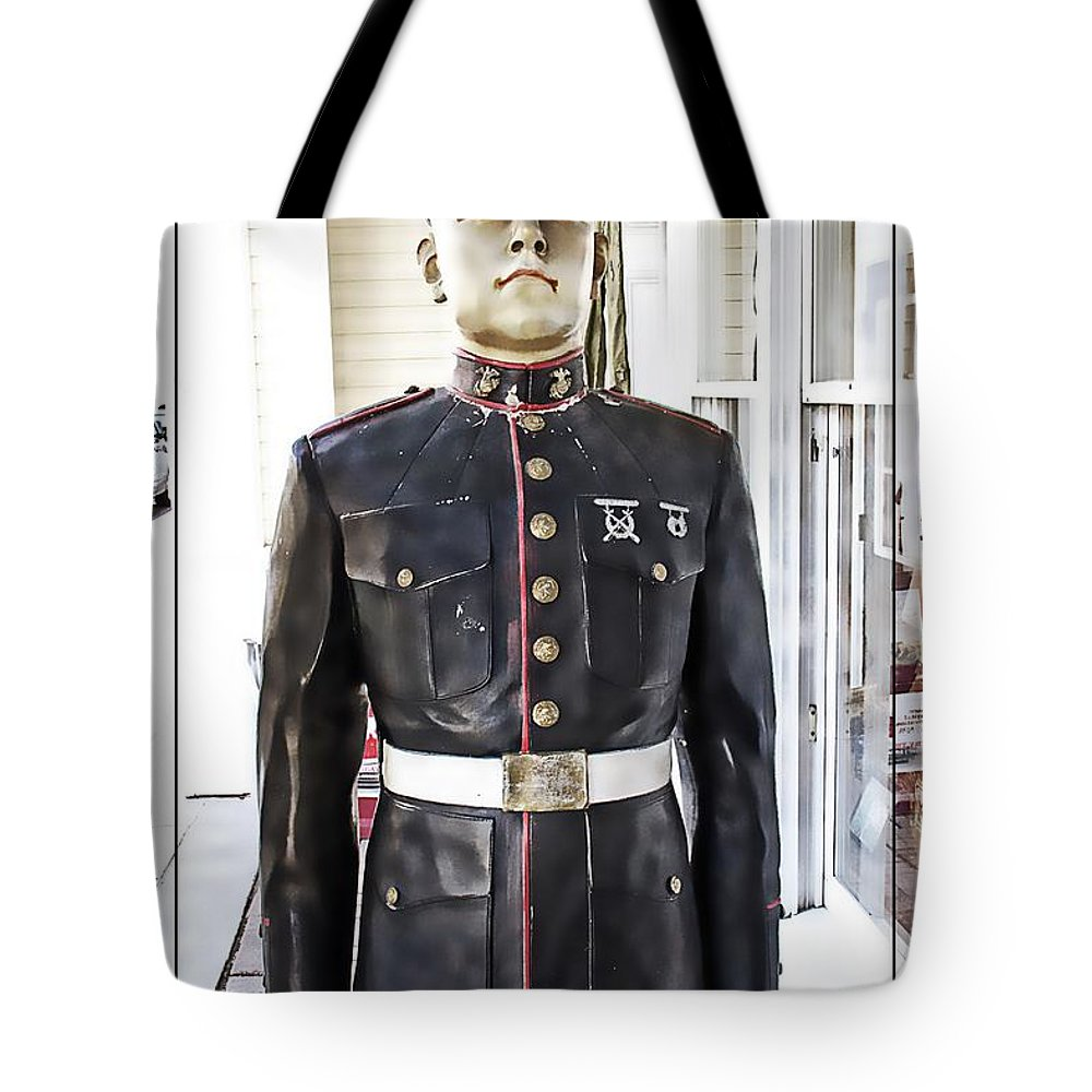 Marine Tote Bag featuring the photograph The Marine by Alice Gipson