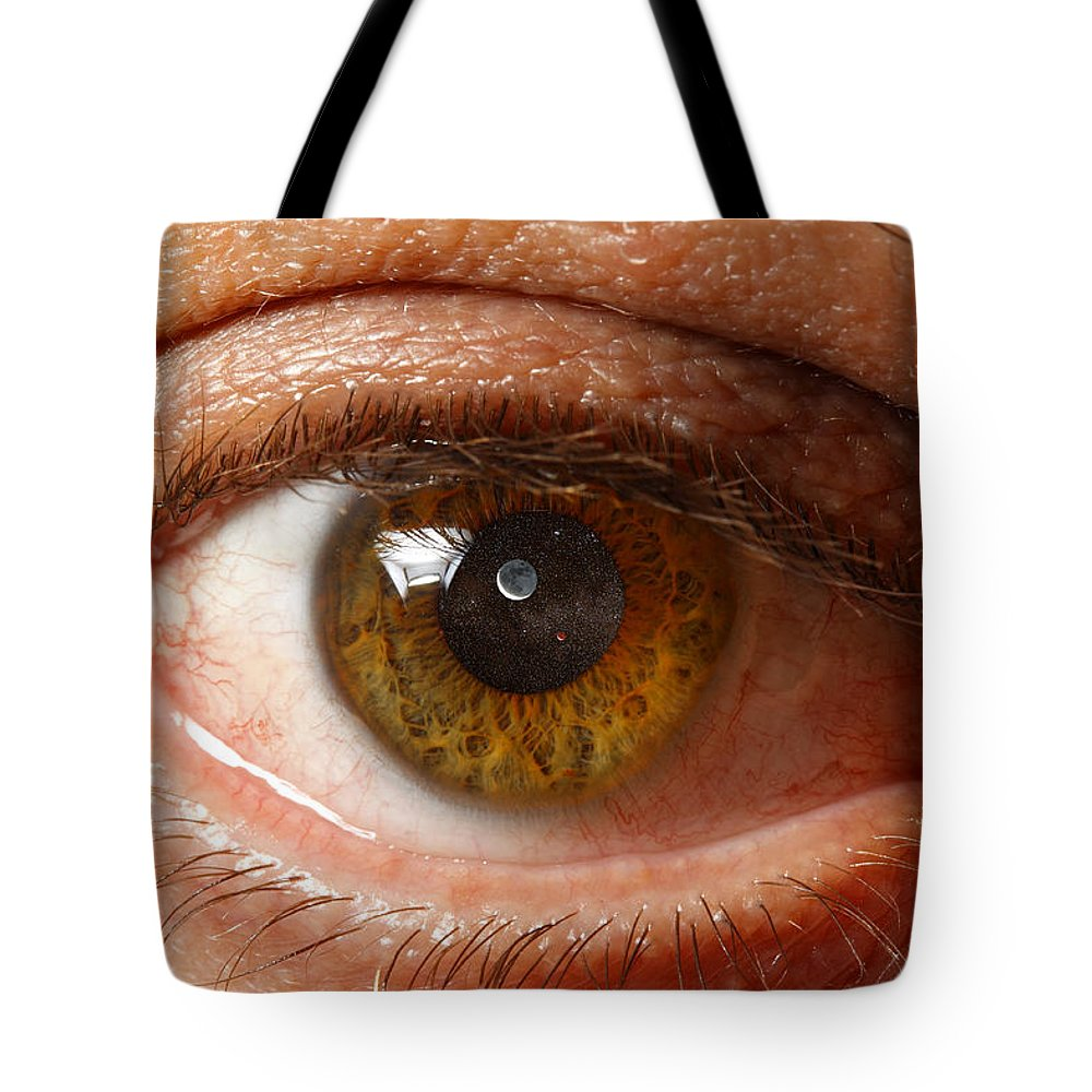 Montages Tote Bag featuring the photograph The Minds Eye by Greg Wells