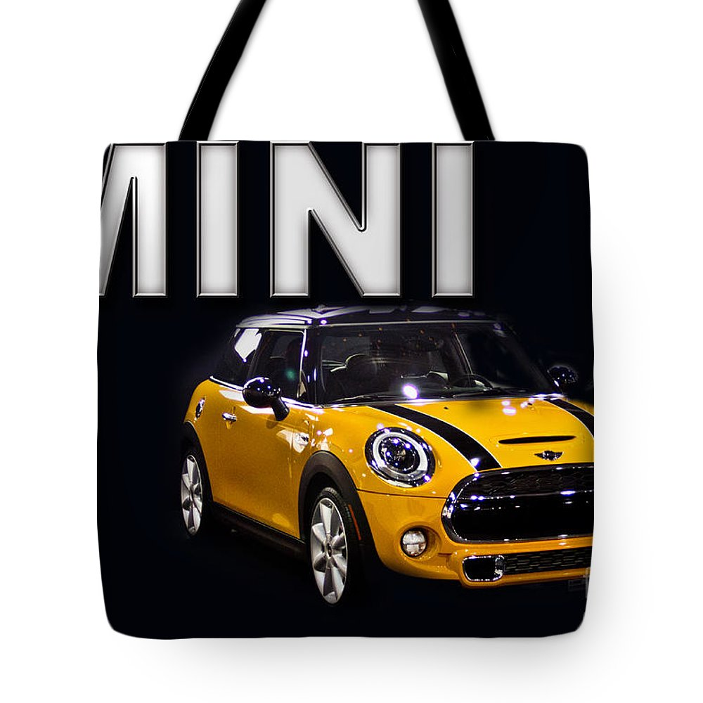 Mini Tote Bag featuring the photograph The Mini by Tom Gari Gallery-Three-Photography