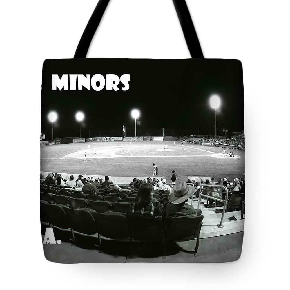 Minor Leagues Tote Bag featuring the photograph The Minors Usa by Michael Moore