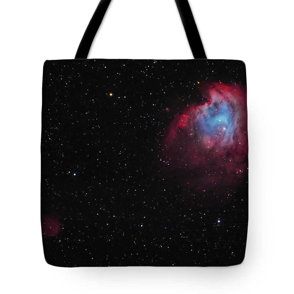 Horizontal Tote Bag featuring the photograph The Monkey Head Nebula And Sh2-247 by Lorand Fenyes
