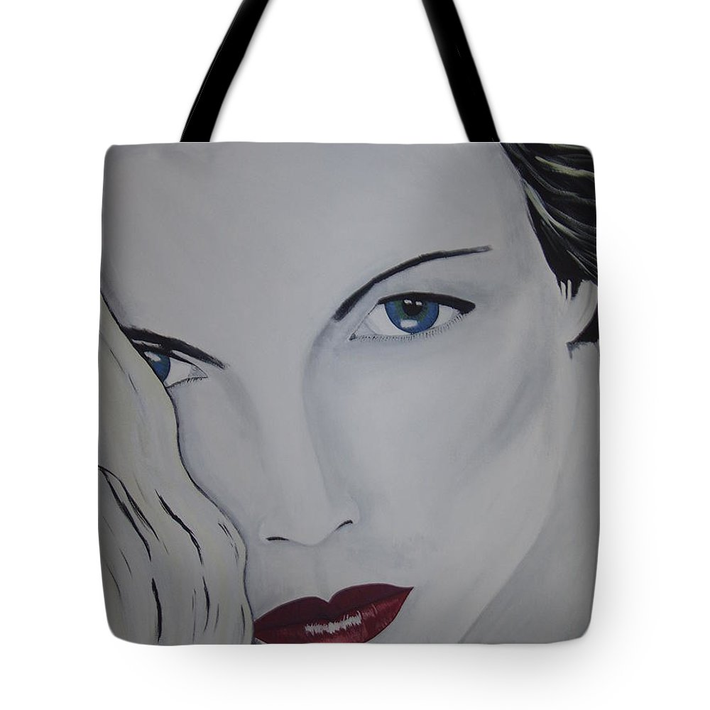 Beauty Tote Bag featuring the painting The Natural by Dean Stephens