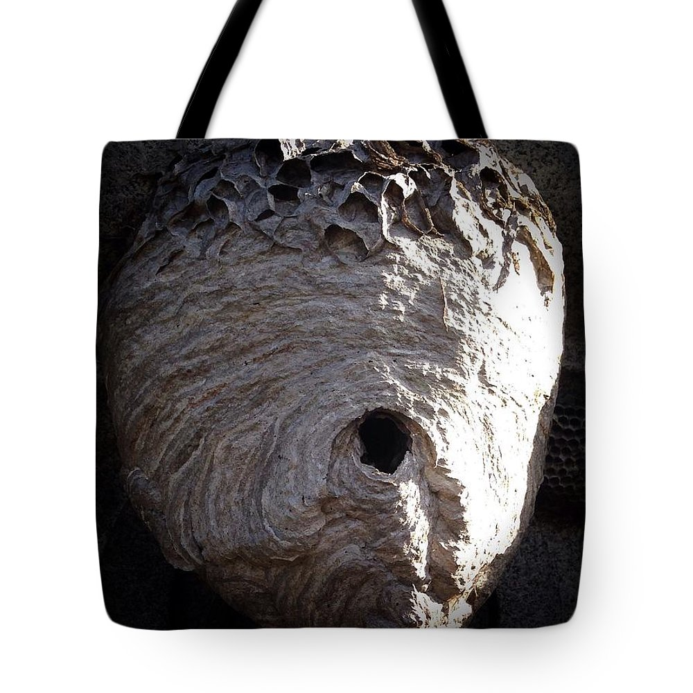 Gothic Tote Bag featuring the photograph The Nest by Patricia McCoy