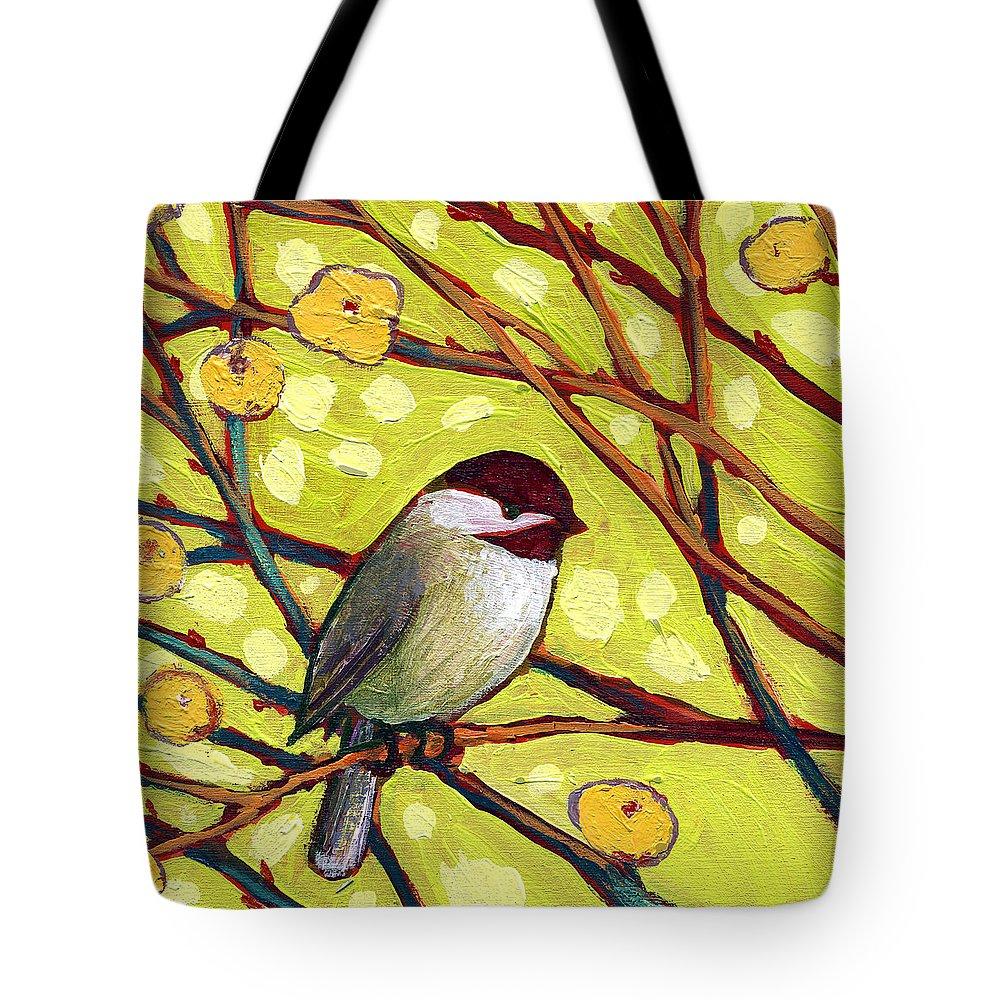 Chickadee Tote Bags