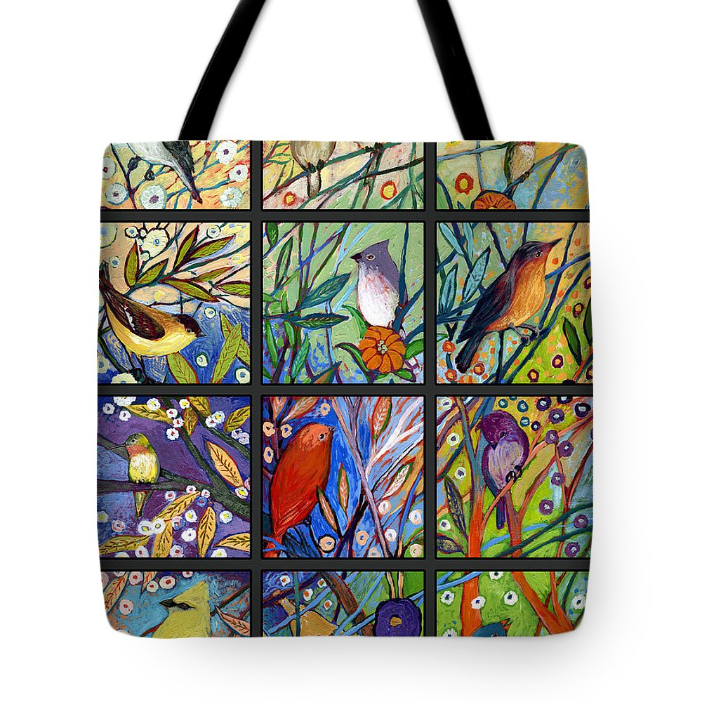 Neverending Tote Bag featuring the painting The NeverEnding Story Set of 12 c2 by Jennifer Lommers
