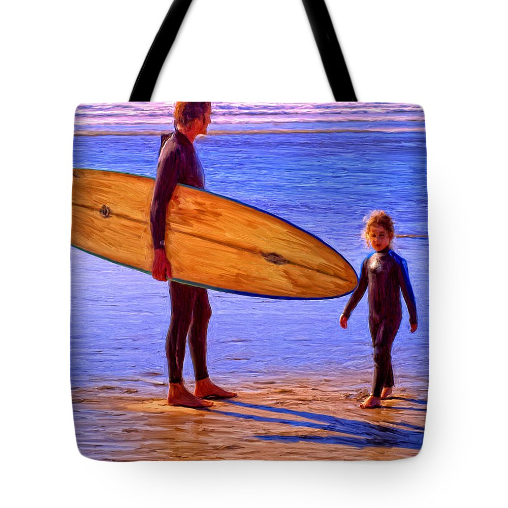 The Next Generation Tote Bag featuring the painting The Next Generation by Dominic Piperata
